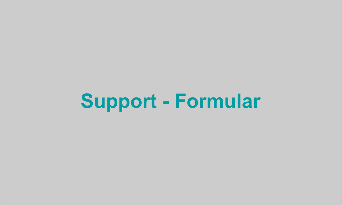 Support-Formular
