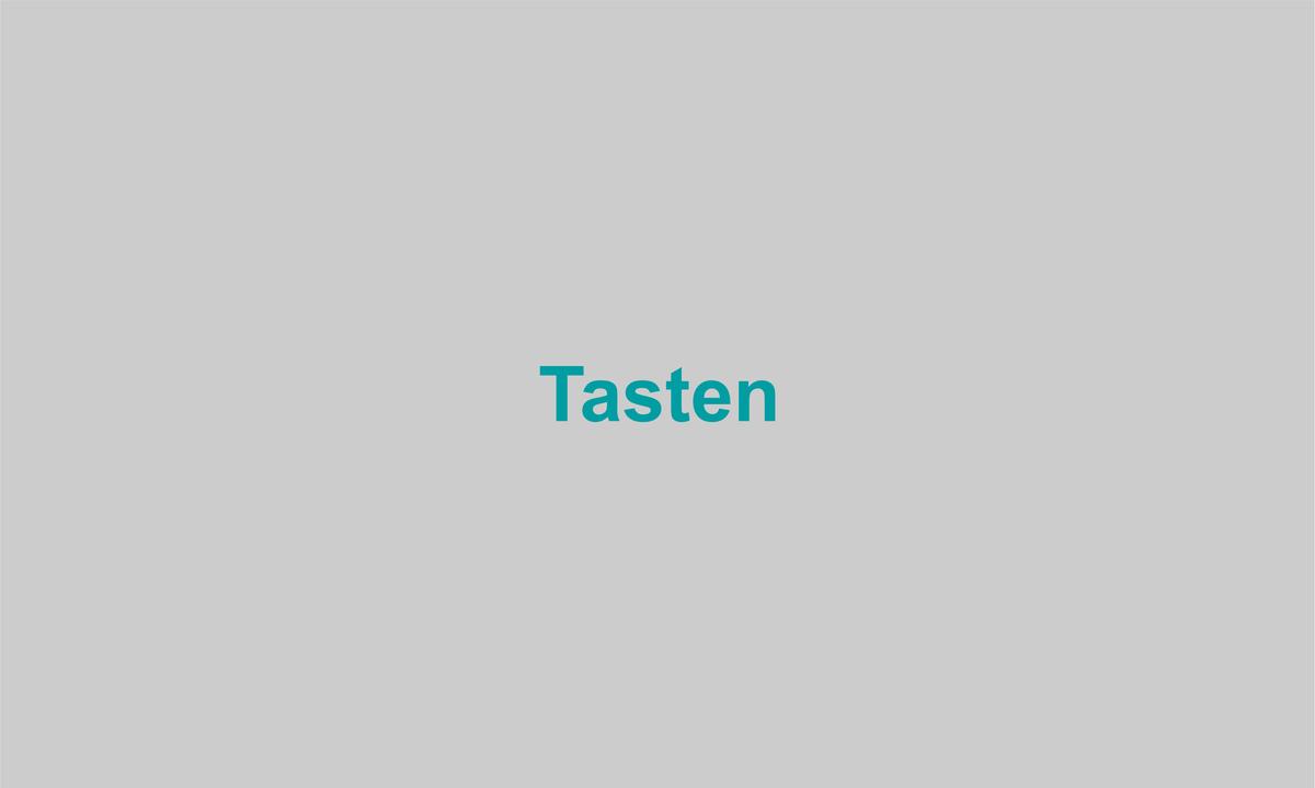 Tasten